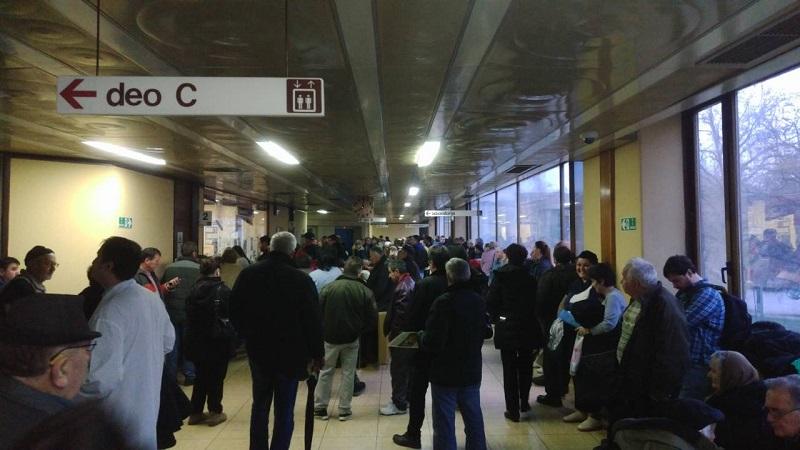 Novi Sad – Poliklinika jutros