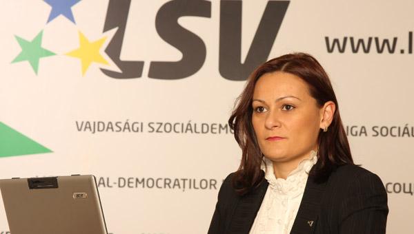 DA LI JE BEOGRAD JEDINO ŠTO POSTOJI U SRBIJI? Izjava Sandre Ristić poslanice Lige socijaldemokrata Vojvodine u Skupštini AP Vojvodina