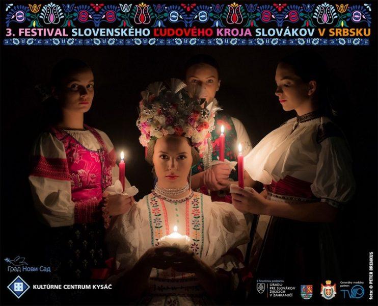 3. FESTIVAL SLOVAČKIH NARODNIH NOŠNJI SLOVAKA U SRBIJI – 3. FESTIVAL SLOVENSKÝCH ĽUDOVÝCH KROJOV SLOVÁKOV V SRBSKU
