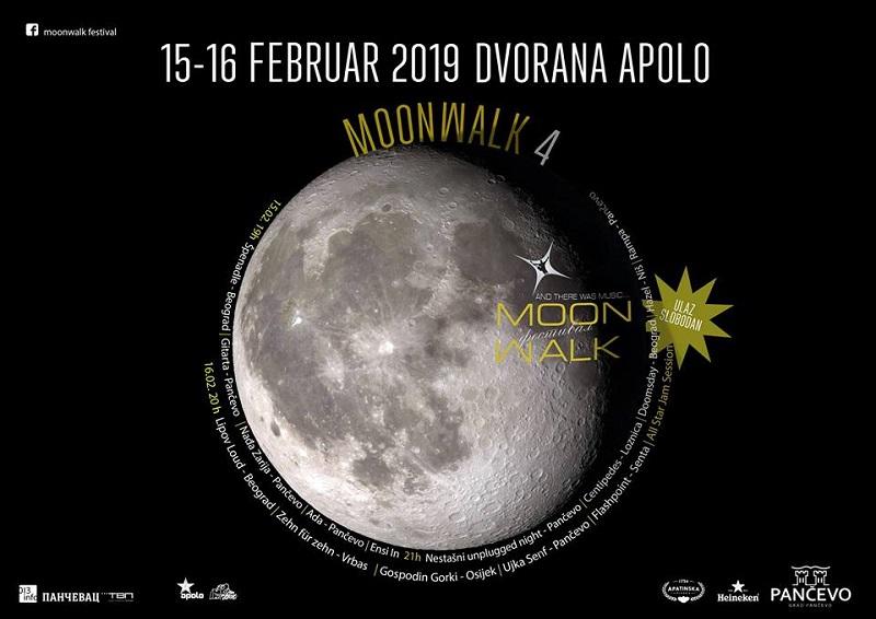 """MOONWALK"" FESTIVAL 15. I 16. FEBRUARA U APOLU"