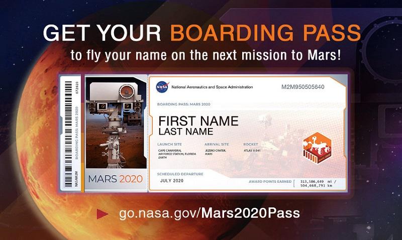 NASA VAS POZIVA DA POŠALJETE SVOJE PODATKE NA MARS