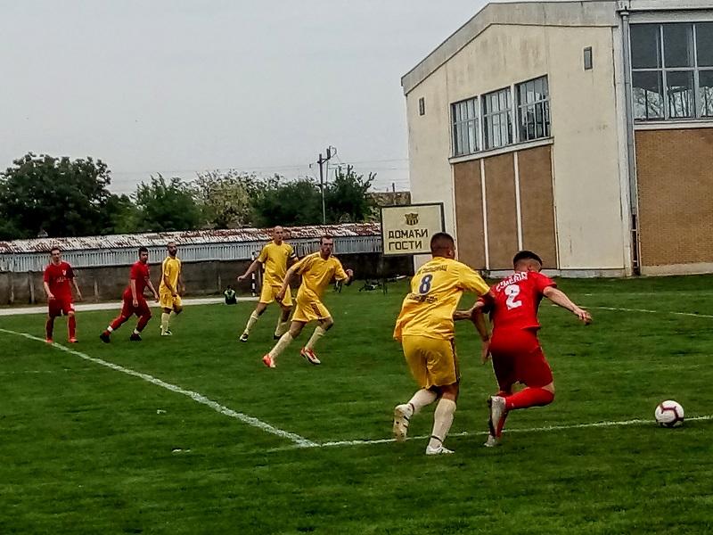 FK OMLADINAC : FK TSK  1:2