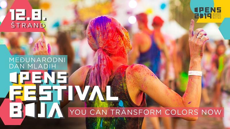 OPENS Festival boja – transformacija znanja