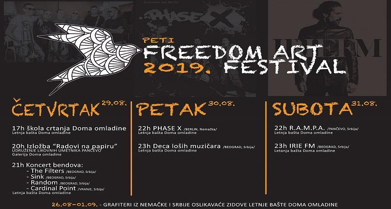 DOBRA MUZIKA I JOŠ PONEŠTO NA OVOGODIŠNJEM FREEDOM ART FESTIVALU