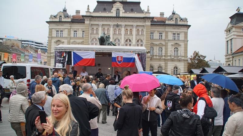 SlOVAČKA I ČEŠKA NA MANIFESTACIJI FOOD PLANET / SLOVENSKO A ČESKO NA MANIFESTÁCII FOOD PLANET