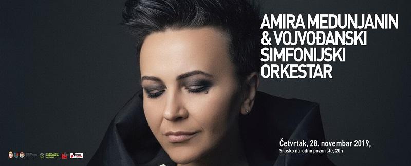 AMIRA MEDUNJANIN & VOJVOĐANSKI SIMFONIJSKI ORKESTAR