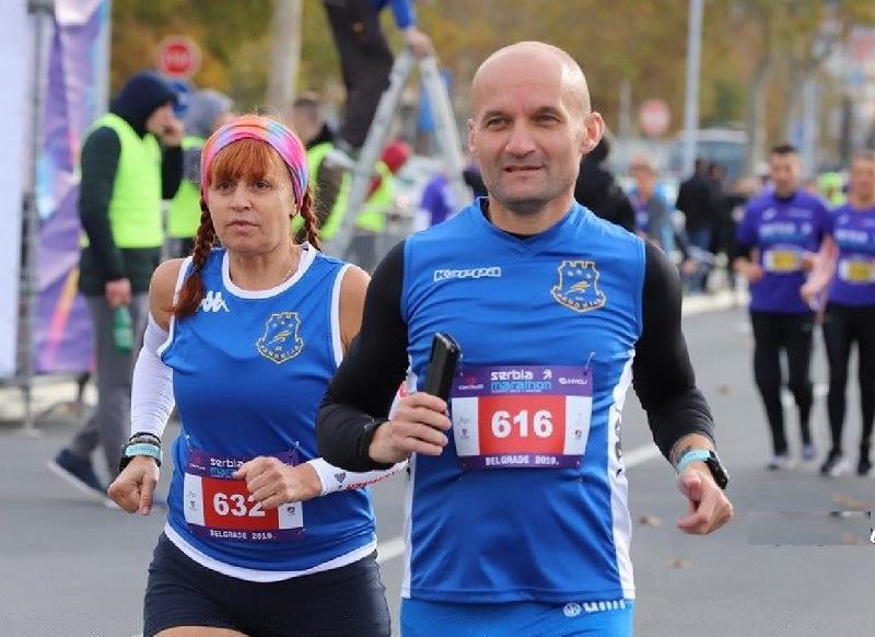 """PRVI SERBIAN MARATON Maratonci """"Panonije"""" uspešni u Beogradu"""
