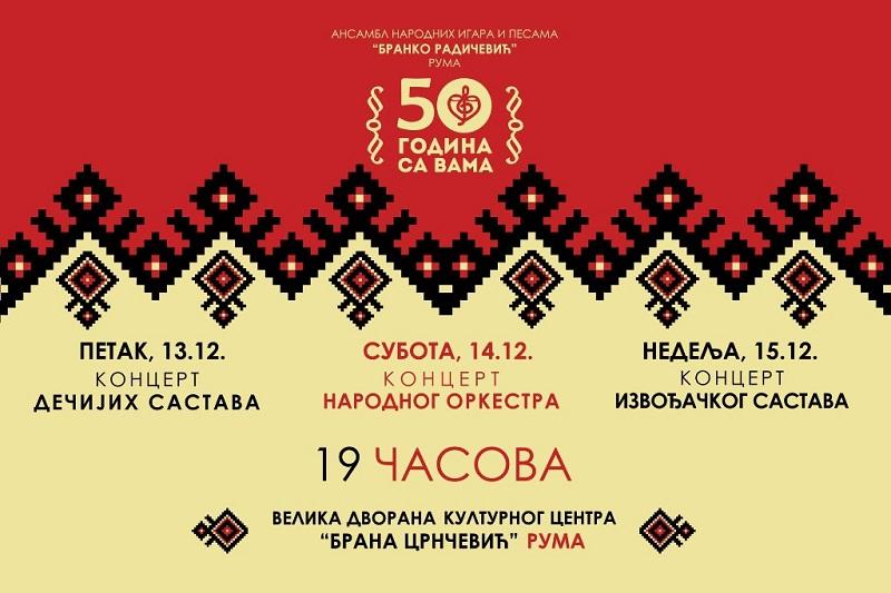 """АНИП """"БРАНКО РАДИЧЕВИЋ"""" – """"50 ГОДИНА СА ВАМА"""""""