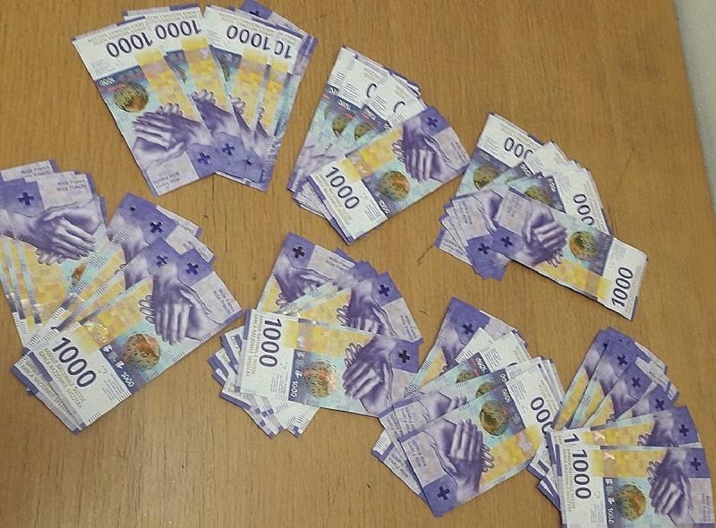ПРЕКО 50.000 НЕПРИЈАВЉЕНИХ ШВАЈЦАРСКИХ ФРАНАКА НА ХОРГОШУ
